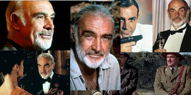 Sean Connery a jeho filmy