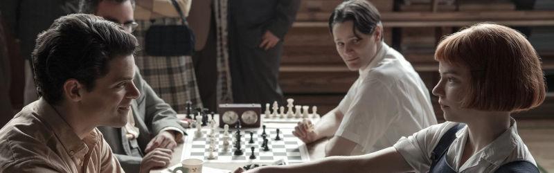 Šachy na plátně - The Queens Gambit