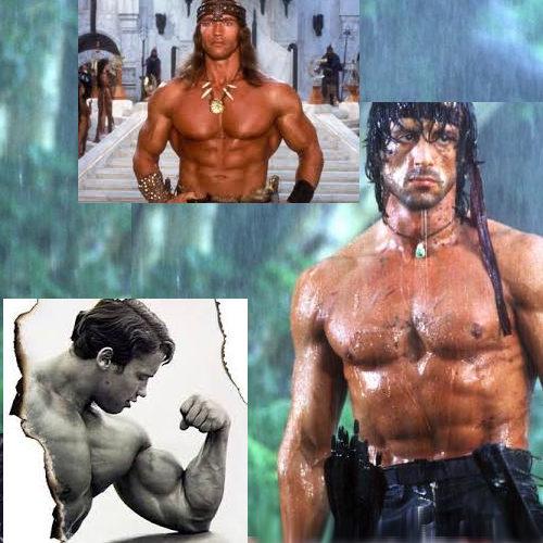 Deset nejlepších filmů Arnolda Schwarzeneggera a Stalloneho