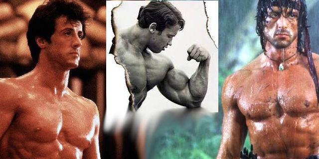 Sylvester Stallone a Arnold Schwarzenegger